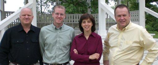 Daryl Wingerd, Me, Susan Verstraete, Jim Elliff